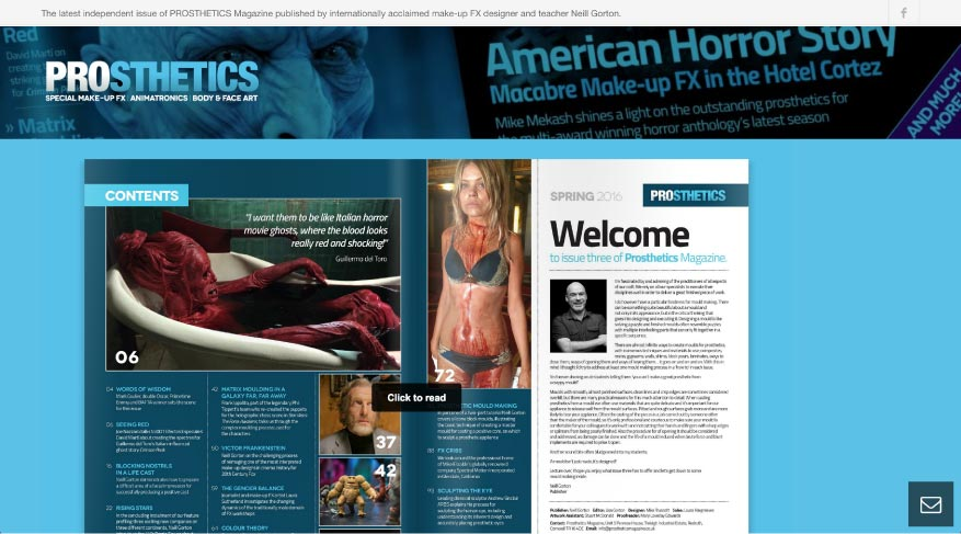 MTTS Design & Solutions for Web, Branding & Communications. Prosthetics Magazine Project.